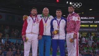 Uzbekistan's Taymazov Wins Freestyle Wrestling Gold -- London 2012 Olympics