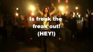 freak the freak out karaoke instrumental by victoria justice full version + on screen lyrics