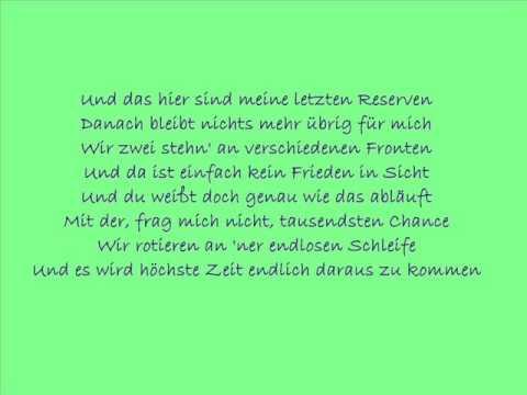 Maxim - Alles Versucht with Lyrics