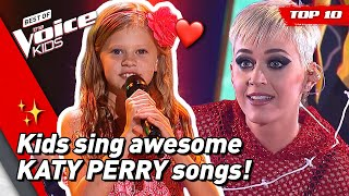 TOP 10 | Would KATY PERRY turn for these young singers in The Voice Kids? 😍