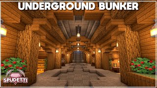 Minecraft: How to Build an Underground Survival Bunker [Tutorial] 2021