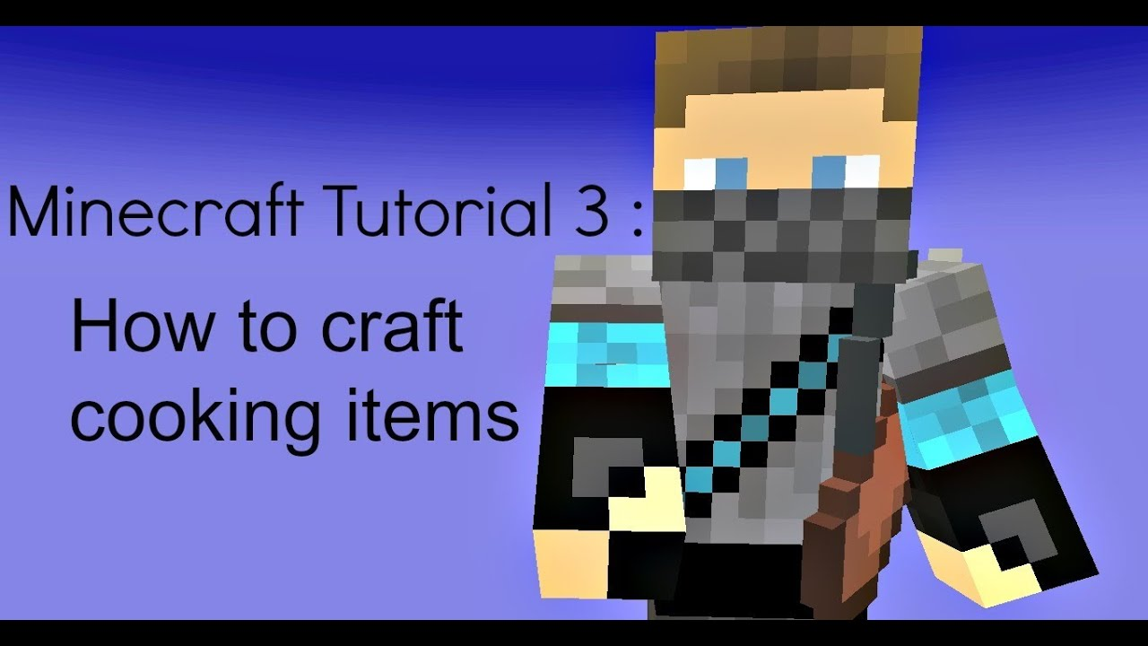 how to craft a bowl in minecraft minecraft tutorial 3 how to craft cooking items bowl bread 8105
