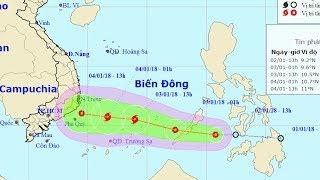 Tin Bão Mới Nhất: Áp thấp di chuyển nhanh, nguy cơ thành bão số 1