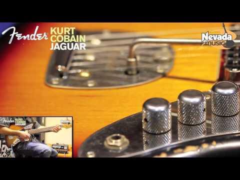 Fender Kurt Cobain Jaguar Guitar Demo @ Nevada Music UK