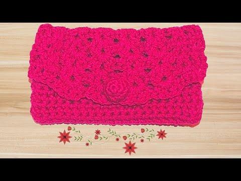 Crochet Clutch Lace Pattern Videomoviles