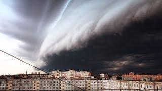 #Ураган в Москве .