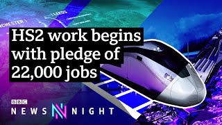 HS2: Could a lasting shift towards home-working make it obsolete? - BBC Newsnight