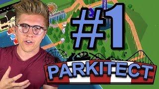Parkitect: Gameplay Tutorial/Walkthrough | Roller Coaster Theme Park | Part 1
