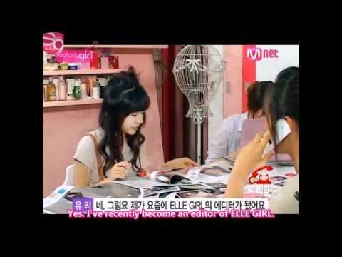 SNSD's Yuri calling DBSK's Jung Yunho