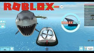 What happened with my boat? - Roblox Shark Bite