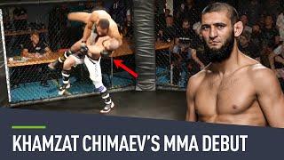 Khamzat Chimaev's FIRST MMA fight
