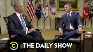 Barack Obama - Navigating America's Racial Divide: The Daily Show