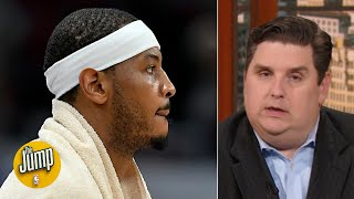 I want to believe Melo will be good with the Blazers but I can't - Brian Windhorst | The Jump