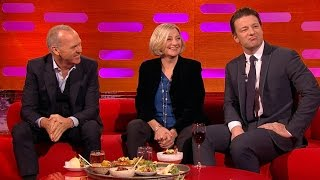 Michael Keaton & Jamie Oliver talk about tattoos - The Graham Norton Show: Series 16 - BBC
