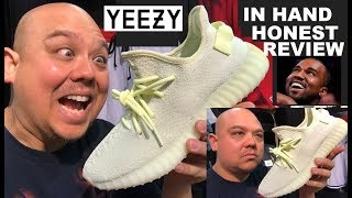 ADIDAS YEEZY 350 V2 BUTTER BOOST SNEAKER HONEST RETAIL REVIEW - KANYE WEST YEEZY'S FOR EVERYONE