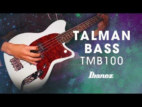 Ibanez Talman TMB100-MGR Electric Bass Guitar, Mint Green