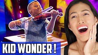 Tyler Butler-Figueroa - Don't You Worry Child Reaction | Violin Wiz Kid! America's Got Talent (AGT)!