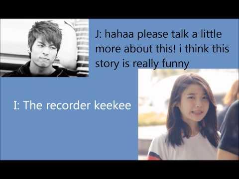 IU and Jonghyun talk about Sulli Cut [eng sub]