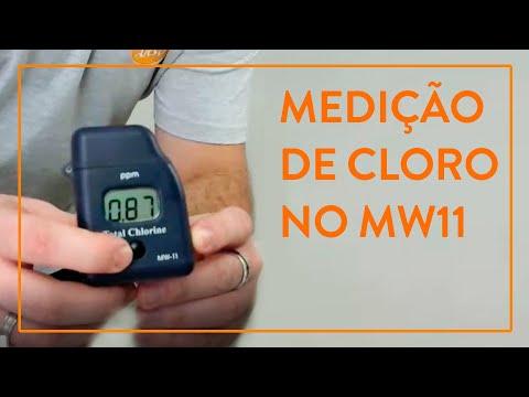 Como fazer a medição de cloro em um fotômetro portátil?