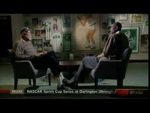 Kevin Garnett and Bill Russell Interview