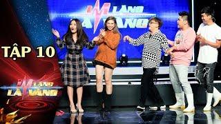 Im Lặng là Vàng Tập 10 - Mia, Khổng Tú Quỳnh gây bất ngờ với nhan sắc mới trở lại showbiz
