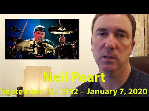 Neil Peart from Rush passed away at 67. RIP