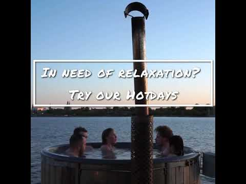 video HotDays Social with Hot Tubs and Panoramic Sauna With Views Of Copenhagen Harbour