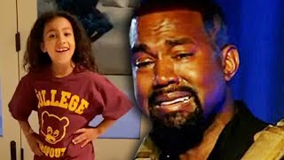 Kanye West Cries During Viral North West Speech