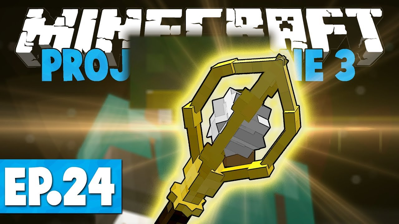 Minecraft Project Ozone 3 | WAND OF ANIMATION & SOUL CRYSTAL! #24 [Modded  Skyblock]