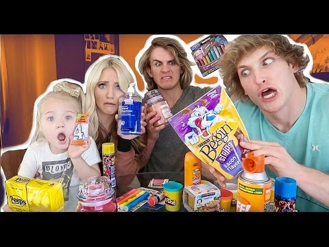 CAN YOU EAT THAT?! (Challenge) Feat. Cole & Sav