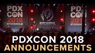 PDXCON 2018 Announcement Show
