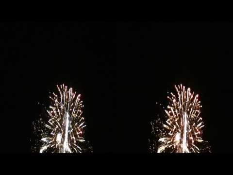 3D Fireworks at the Salem Yacht Club - 2016 by Full Volume 3D Productions