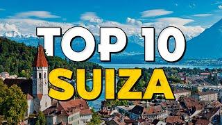 ✈️ TOP 10 Ciudades de Suiza ⭐️ Que Ver y Hacer en Suiza