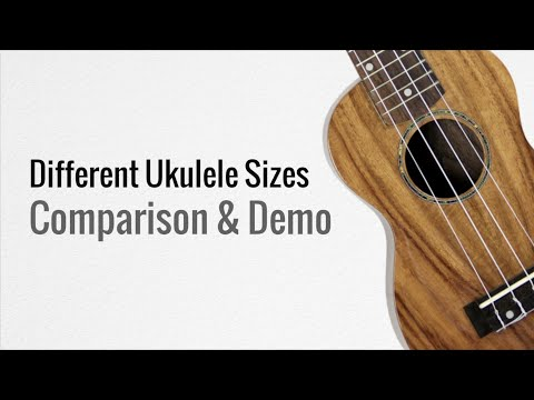 Different Ukulele Sizes | Makala Ukulele Sound Comparison