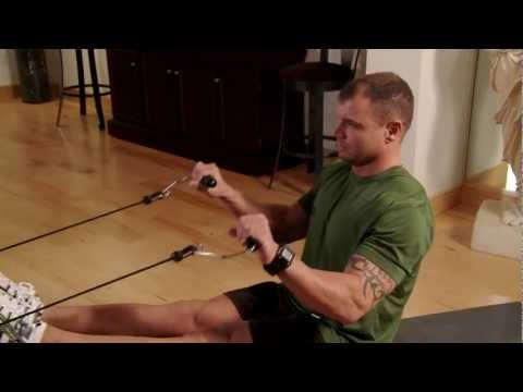 Reverse Curl on the Total Trainer Home Gym