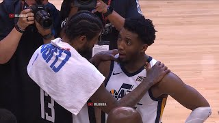 Paul George gives his best respect to Donovan Mitchell after game 6
