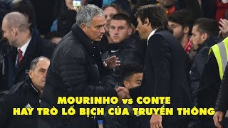 Mourinho vs Conte - Hay trò lố bịch của truyền thông.