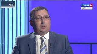 Актуальное интервью Вадим Чеченко, министр финансов Омской области