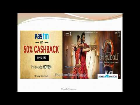 Grab 50% Cashback on Movie Tickets Bahubali 2 Conclusion