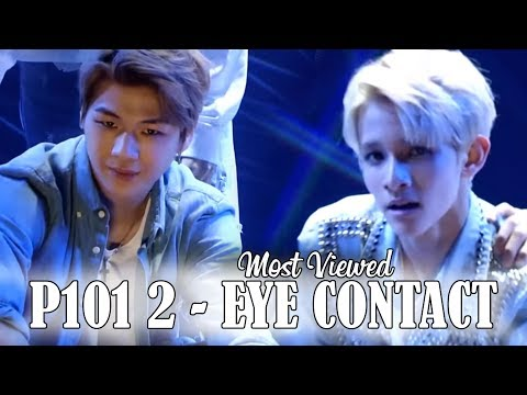 TOP 50 MOST VIEWED 1:1 EYE CONTACTS OF PRODUCE 101 SEASON 2