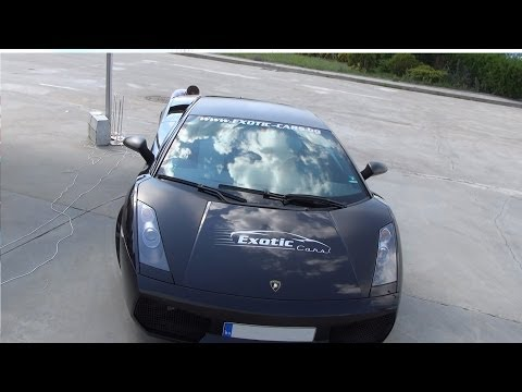 Lamborghini Gallardo Nera Exterior and Interior in 3D 4K UHD