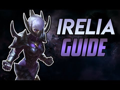 Reworked Irelia Guide Diamond League Of Legends Season 8