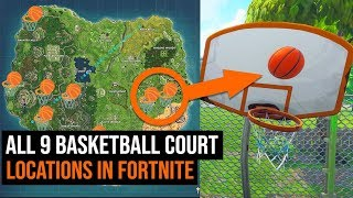 All 9 Basketball Court Locations in Fortnite - Season 5 Challenges