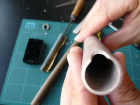 Como fazer uma quena com tubo PVC soprano em dó