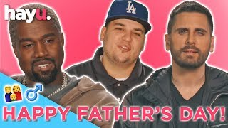 Happy Fathers Day Ft, Rob Kardashian, Kanye West & Scott Disick | Keeping Up With The Kardashians