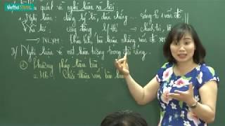Bài 7: Cách làm bài nghị luận về một hiện tượng đời sống   Học cấp tốc Văn