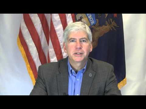 2013 Michigan Shines for Autism Gala - Governor Snyder