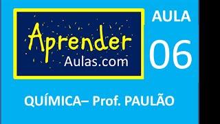QU�MICA - AULA 6 - PARTE 1 - ATOM�STICA: FOR�AS E LIGA��ES INTERMOLECULARES