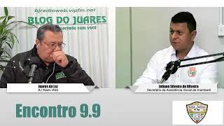 BJ Rádio Web entrevista Juliano Silveira, secretário da Assistência Social de Arambaré