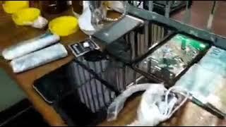 PRF apreende maconha, crack e celulares que seriam arremessados para dentro Presídio em Charqueadas